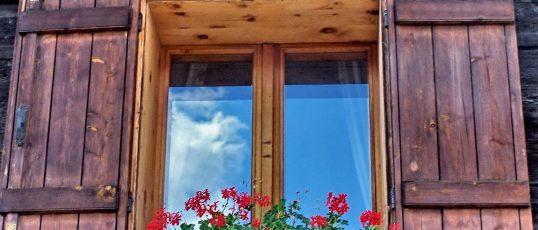 Fönster är husets öga