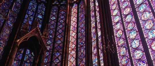 Världens vackraste fönster? Sainte-Chapelle, Paris